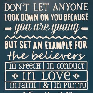 Youth Poster - Trenton Mennonite Church