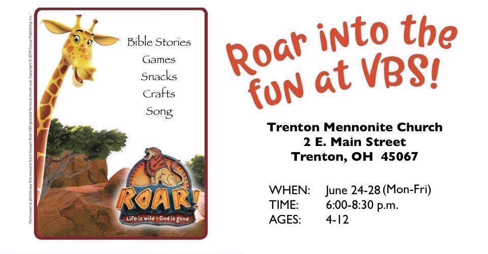Vacation Bible School (VBS)-June 24-28