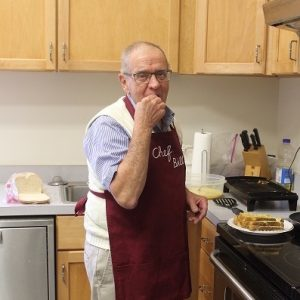Trenton Mennonite Church Breakfast Chef Bill